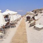 the 6km beach walkway