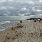 La plage d'Albena