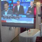large tv screen