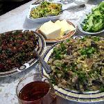 Good food, very natural ingredients, at B&B Nina
