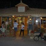 Dionysos restaurant outside