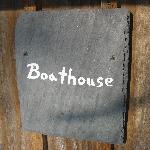 Boathouse Slate Sign