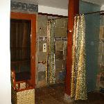 Showers & Sauna
