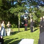 Ceremony on the Front Lawn