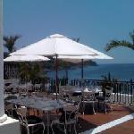 Terasse of Main Restaurant