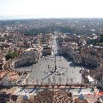 View from top of the Vatican
