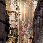 Inside SIena's Duomo