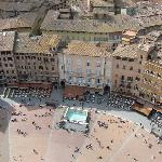 Campo from top of Torre del Mangia