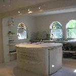 Private kitchen inside house