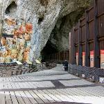 Viewing platform, Grotte de Niaux