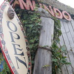 entrance to cafe mundo