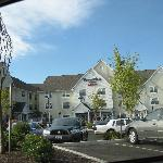 Townplace Suites in same parking lot