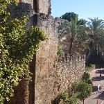 View from our window of Marbella castle