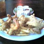 Seafood Combo...yum!