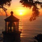 Sun Set- Heceta Head- Near Fireside