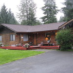 Foto de A Cozy Log Bed and Breakfast