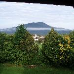 Early morning mist - view from bedroom