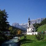The church at Ramsau