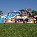 At the slide & splash