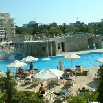 Panorama Shot Of Pool