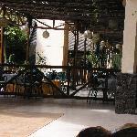 el restaurante de fuera