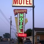 Superior Motel  Entrance Sign