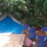 Piscina vista de habitacion hotel Rif en Tanger