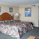 chambre spacieuse et propre