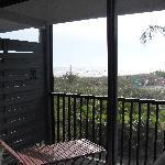 vue depuis la balcon