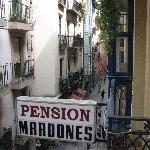 Room overlooking the Calle Jardines