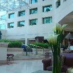 Lobby del Marriot en Quito