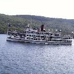 The Lac du Saint Sacrement on a cruise