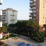 hotel Blaumar - view