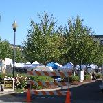 Sunday Market around the corner