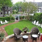 Veranda House lawn