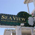 Sea View Sign