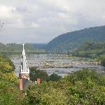 View From Jefferson's Rock at Harper's Ferry
