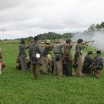 Living history at Antietam