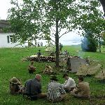 Encampment at Antietam Battlefield