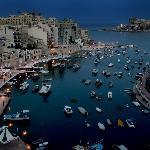 Spinola view from 8th floor balcony