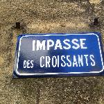 A very French street in Collias!