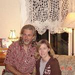 Wayne et Amy, nos hôtes