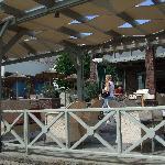 Cafe und Frühstücksbereich