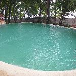 Beach side infinity pool