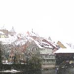 Baden in the snow