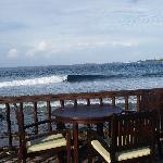 la terrasse du Raadhu bar