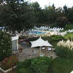 Piscine de l'hôtel Novotel