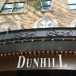 Entrance to the Dunhill