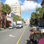 Views from the carriage ride