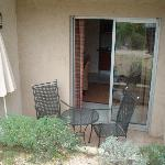 patio area